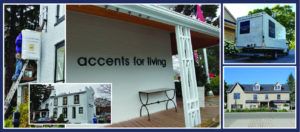 accents for living sign and truck