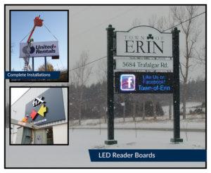 Municipality of Erin Sign & LED Board