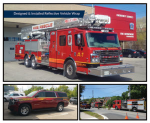 Firetruck WrapsSuburban Wraps