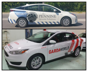 Security Vehicle Wraps, Wrap Design & Install