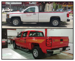 Custom Vehicle Graphics & Installation