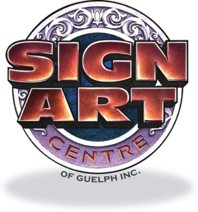 Sign Art Centre of Guelph Logo